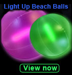 glow and led beach balls